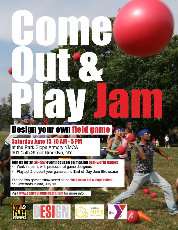 Play Jam Flyer