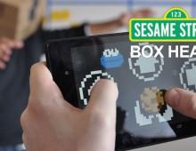 Sesame Street Box Heads