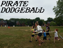 Pirate Dodgeball